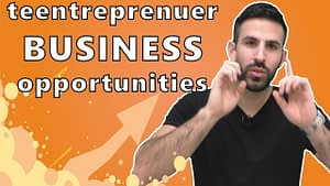 Business opportunities for young entrepreneurs