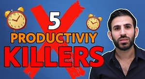 5 Mistakes That RUIN Your Productivity