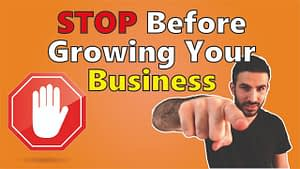 Do not try to Scale your business before watching this | Business Growing Pains